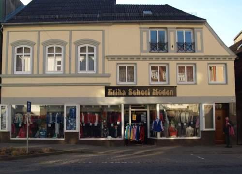 Hausansicht von Scheel-Moden im Lollfuß in Schleswig.