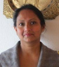 Ein Foto der Inhaberin