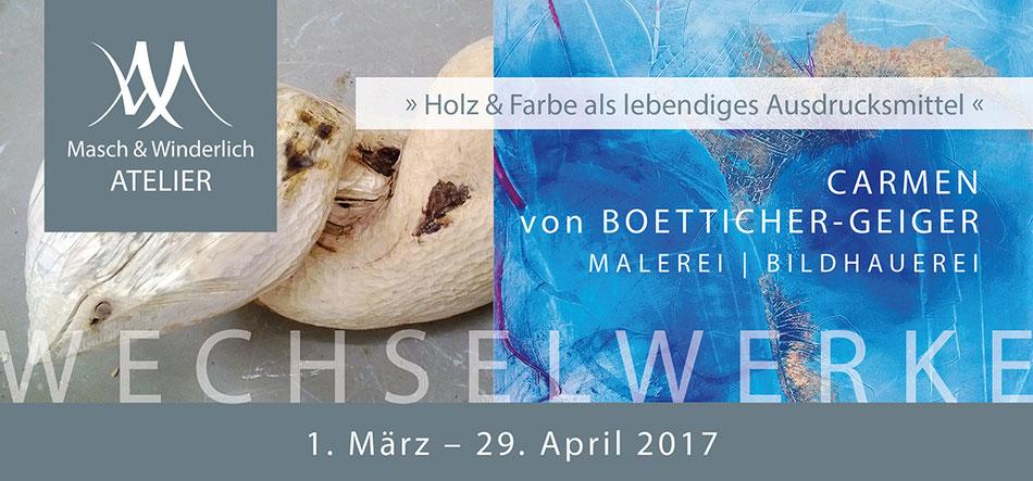 Einladung zur Vernissage im Atelieer Masch & WInderlich am 4. März